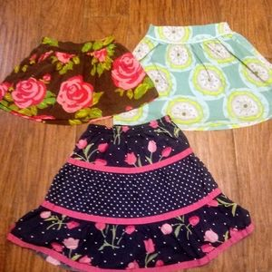 NAME BRAND girls toddler mini's sz. 4T and 5T